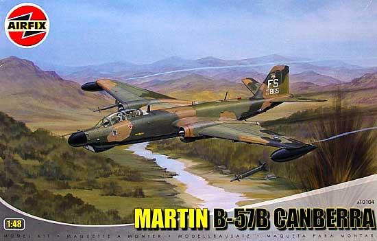 マーティン B-57B キャンベラ B.2/B.21プラモデル(エアフィックス1/48 ミリタリーエアクラフトNo.10104)商品画像
