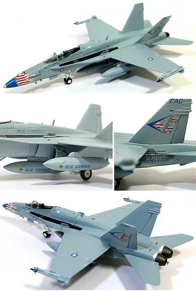 F/A-18C ホーネット VFA-146 ブルーダイヤモンズ完成品(ウイッティ・ウイングス1/72 スカイ ガーディアン シリーズ (現用機)No.74320)商品画像_1