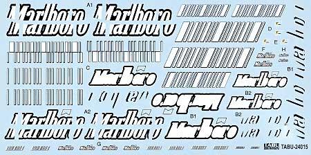 フェラーリ F2007用 オプションデカールデカール(タブデザイン1/24 デカールNo.TABU-24015)商品画像