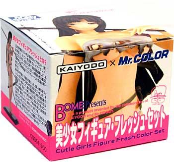 美少女フィギュア フレッシュセット塗料(GSIクレオスMr.カラー 特色セットNo.CS551)商品画像