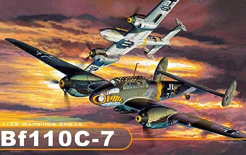メッサーシュミット Bf110 C-7プラモデル(サイバーホビー1/32 ウイングテック シリーズNo.3203)商品画像