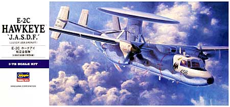 E-2C ホークアイ 航空自衛隊プラモデル(ハセガワ1/72 飛行機 EシリーズNo.E030)商品画像