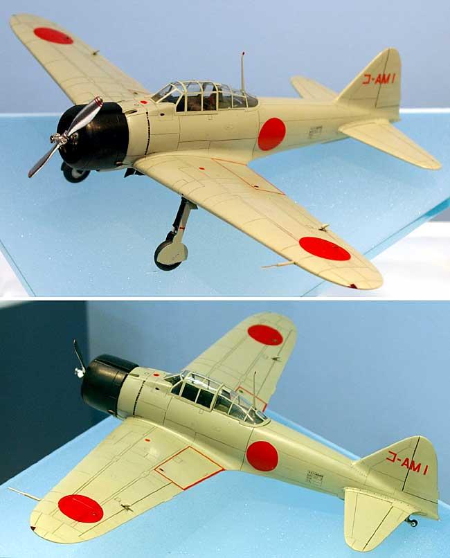 三菱 A6M1 十二試艦上戦闘機プラモデル(ハセガワ1/48 飛行機 限定生産No.09840)商品画像_1