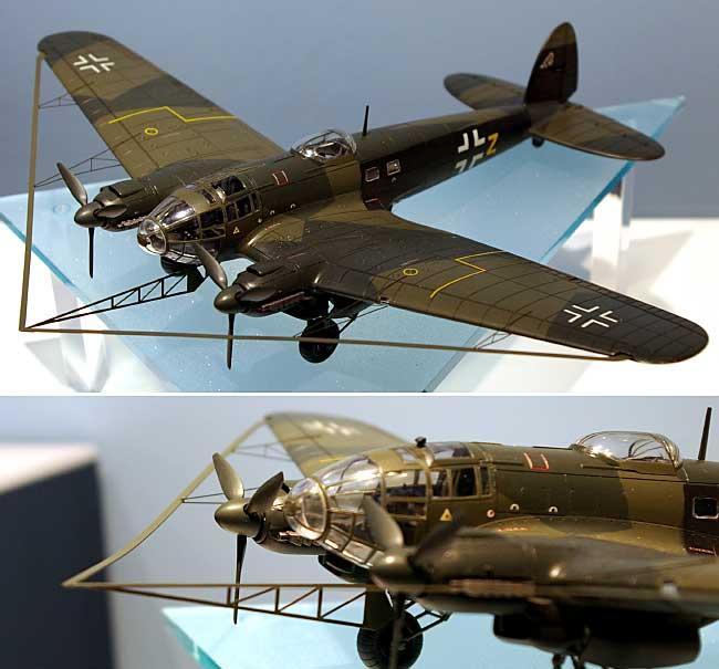 ハインケル He111H-8 w/バルーン ケーブルカッタープラモデル(ハセガワ1/72 飛行機 限定生産No.00929)商品画像_2