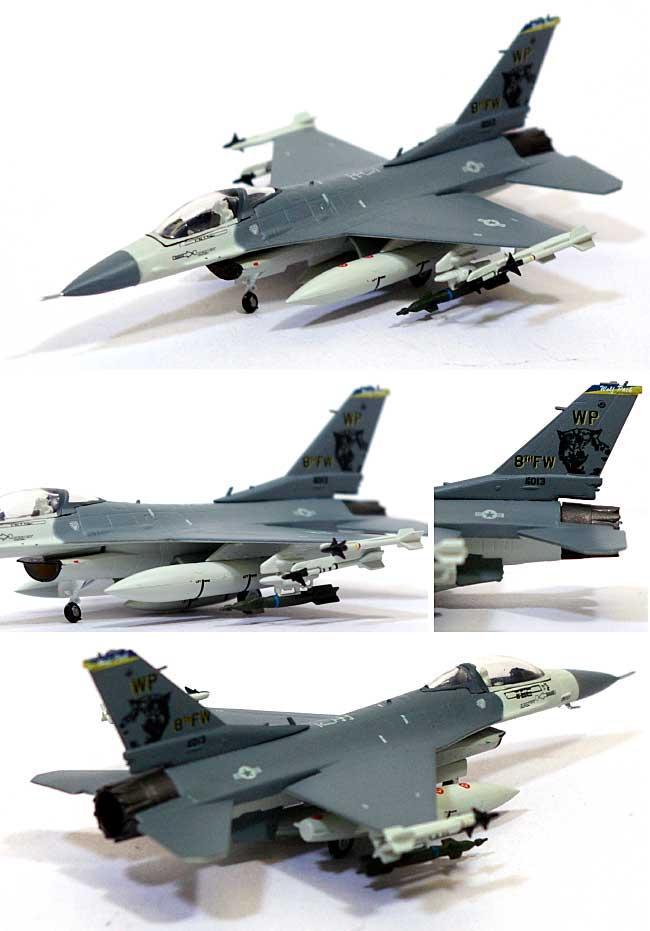 F-16C ファイティング ファルコン ウルフパック 8th TWF 80 TFS スコーピオン スコードロン完成品(ダロンウイングド ファイターズNo.CS10007)商品画像_1