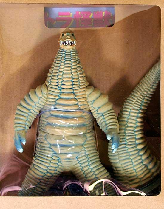 どくろ怪獣 レッドキングフィギュア(バンダイソフビ魂 怪獣標本No.2.0)商品画像_1