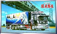 アオシマ1/32 大型デコトラ椎名急送 猛虎襲来 (保冷車)