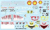 MZデカールミニッツレーサー対応 オリジナルデカールF2008 2008年用 デカール