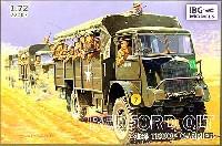 イギリス軍 ベッドフォード QLT 3tonトラック 4x4 兵員輸送タイプ