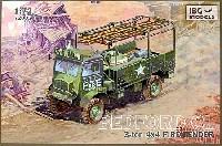 イギリス軍 ベッドフォード QLT 3tonトラック 4x4 軍用消防車タイプ