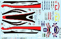 MZデカールミニッツレーサー対応 オリジナルデカールSA08 2008年用 デカール