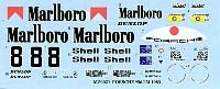MZデカールミニッツレーサー対応 オリジナルデカールポルシェ 956 Marlboro LM1983