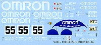 MZデカールミニッツレーサー対応 オリジナルデカールポルシェ 962C OMRON LM1989