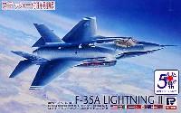 ロッキードマーチン F-35A ライトニング 2 (統合戦闘機 プロトタイプ1号機 AA-1) ステッカー付 特別版