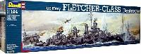 レベル1/144 艦船モデルフレッチャー級 駆逐艦