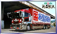 アオシマ1/32 大型デコトラ押田運送 角文観光 (かくぶんかんこう)