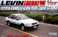 フジミ1/24 インチアップシリーズ (スポット)トヨタ カローラ レビン 2ドア (AE86 前期型)