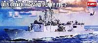 アカデミー艦船・船舶アメリカ海軍ミサイルフリゲート艦 オリバーハザードペリー FFG-7