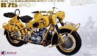 WW2 ドイツ 軍用オートバイ BMW R75 (2台分入り)