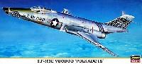 ハセガワ1/72 飛行機 限定生産RF-101C ブードゥー ポルカドッツ