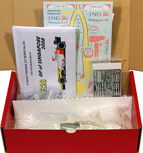 ルノー R28 2008 シンガポールGPレジン(スタジオ27F-1 オリジナルキット (スタンダードシリーズ)No.Fk20230C)商品画像