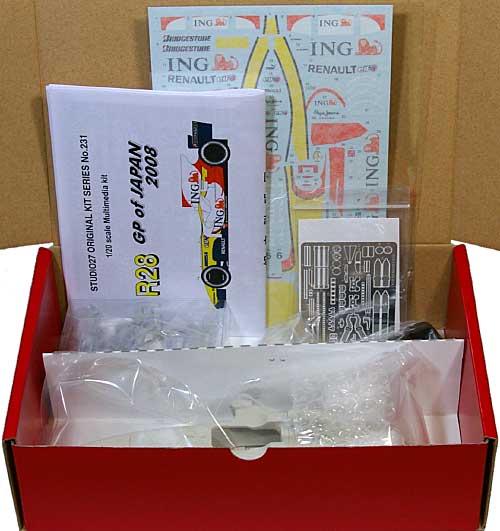 ルノー R28 2008 日本GPレジン(スタジオ27F-1 オリジナルキット (スタンダードシリーズ)No.FK20231C)商品画像