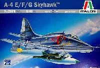 イタレリ1/48 飛行機シリーズA-4 E/F/G スカイホーク