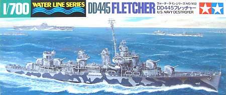 アメリカ海軍駆逐艦 DD445 フレッチャープラモデル(タミヤ1/700 ウォーターラインシリーズNo.902)商品画像