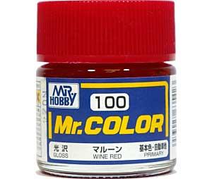 マルーン (光沢) (C-100)塗料(GSIクレオスMr.カラーNo.C-100)商品画像