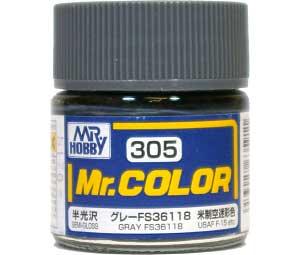 グレー FS36118 (半光沢) (C-305)塗料(GSIクレオスMr.カラーNo.C-305)商品画像