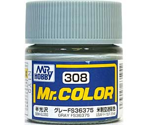 グレー FS36375 (半光沢) (C-308)塗料(GSIクレオスMr.カラーNo.C-308)商品画像