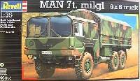 レベル1/35 ミリタリーマン 7t トラック 6×6