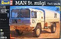 レベル1/35 ミリタリーマン 5t トラック 4×4