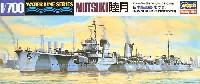 ハセガワ1/700 ウォーターラインシリーズ日本駆逐艦 睦月