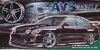 アオシマ1/24 Sパーツ タイヤ&ホイールAVS モデル 5