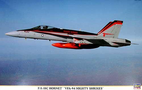 F/A-18C ホーネット VFA-94 マイティ シュライクスプラモデル(ハセガワ1/48 飛行機 限定生産No.09849)商品画像