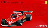 フジミ1/20 GPシリーズ SP (スポット)フェラーリ 126C2 1982年 ロングビーチグランプリ スケルトンボディ (カルトグラフデカール付)