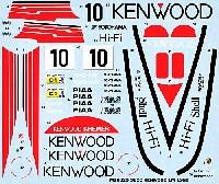 MZデカールミニッツレーサー対応 オリジナルデカールポルシェ 962C KENWOOD ル・マン 1988年用 デカール