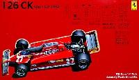 フジミ1/20 GPシリーズ SP (スポット)フェラーリ 126CK 1981年 スペインGP スケルトンボディ