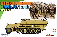LAH 第1SS装甲師団 装甲擲弾兵セット w/ Sd.Kfz.251/7 Ausf.D アルデンヌの戦い 1944