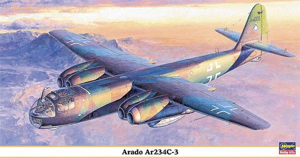 アラド Ar234C-3プラモデル(ハセガワ1/48 飛行機 限定生産No.09845)商品画像