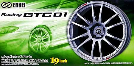 エンケイ GTC 01 (19インチ)プラモデル(アオシマ1/24 Sパーツ タイヤ&ホイールNo.144)商品画像