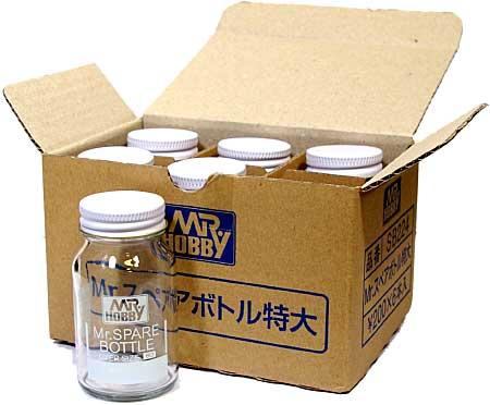 Mr.スペアボトル 特大 (80ml) (6個入りパック)塗料瓶(GSIクレオスアクセサリーNo.SB224B)商品画像