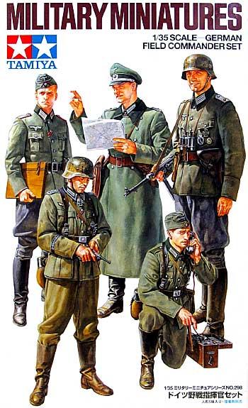 ドイツ野戦指揮官セットプラモデル(タミヤ1/35 ミリタリーミニチュアシリーズNo.298)商品画像
