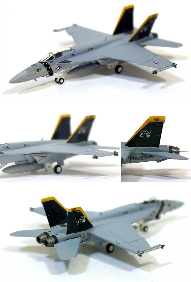 F/A-18E スーパーホーネット アメリカ海軍 VX-9 バンパイアズ XE 100 GO NAVY (ハイビジ)完成品(ホーガンウイングスM-SERIESNo.6238)商品画像_1
