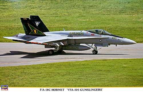 F/A-18C ホーネット VFA-105 ガンスリンガーズプラモデル(ハセガワ1/48 飛行機 限定生産No.09860)商品画像