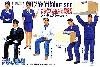 バスガイド & バス運転手トラック運転手 & 作業員 (フィギュア5体セット)
