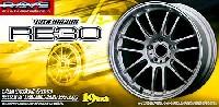 アオシマ1/24 Sパーツ タイヤ&ホイールボルクレーシング RE30 (19インチ)
