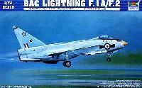 トランペッター1/72 エアクラフト プラモデルBAC ライトニング F.1A/F.2