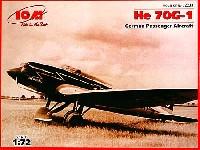 ICM1/72 エアクラフト プラモデルヘンシェル He70G-1 輸送機